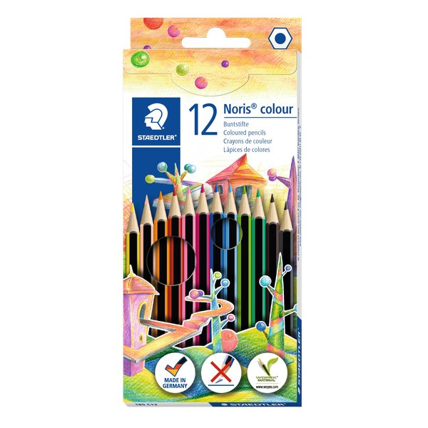Matite colorate Noris® colour Staedtler - 185C12 (conf.12)