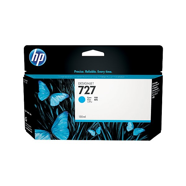 Originale HP B3P19A Cartuccia A.R. 727 ml. 130 ciano
