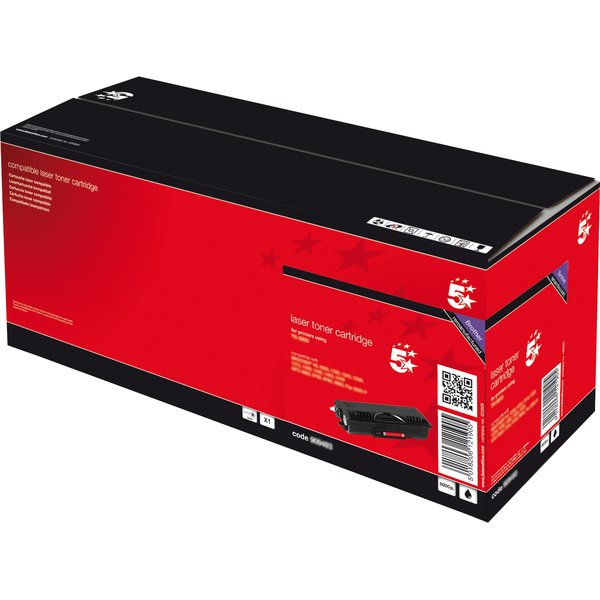 Compatibile 5 Star per Brother TN-6600 toner A.R. nero - 909493