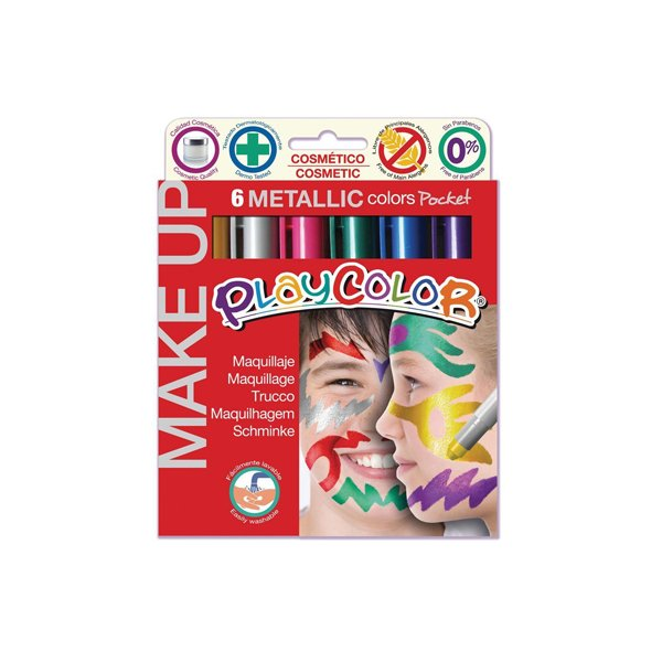 Tempera solida Make up Maped - metallizzati - 01.011 (conf.6)